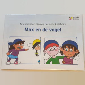 Stickervel Max en de vogel